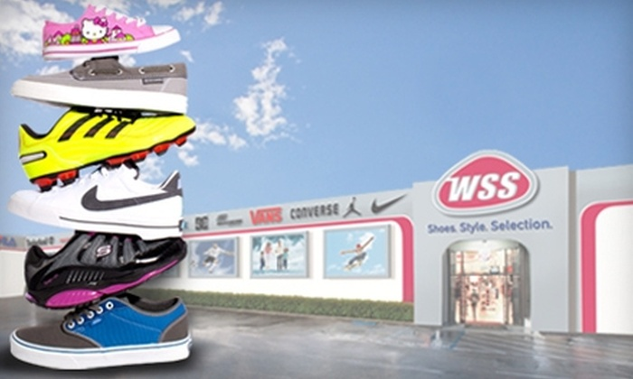 WSS - Multiple Locations: $20 for $40 (or $45 if Redeemed by July 4) Worth of Shoes, Apparel, and Accessories at WSS