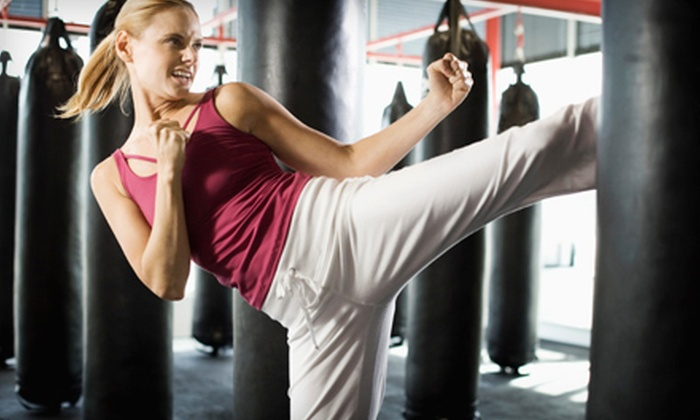 Kings Gym - Bedford Heights: $40 for One Month of Unlimited Kickboxing Boot-Camp Classes at Kings Gym in Bedford Heights ($120 Value)