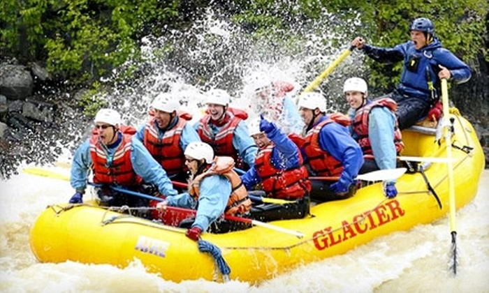 Glacier Raft Company - Golden: $50 for an Ultimate Whitewater Rafting Adventure at Glacier Raft Company in Golden