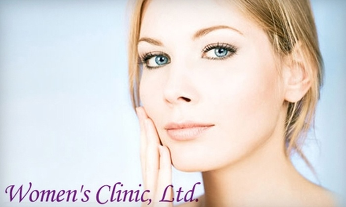 Women's Clinic, Ltd. - Allentown / Reading: Spa Treatments at Women's Clinic, Ltd. Choose from Two Options.