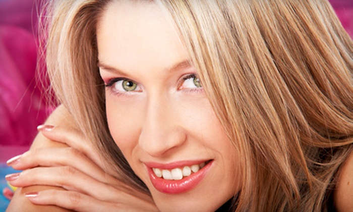 Hair Court - Chili: $45 for Haircut and Color Package with Full Color, Highlights, or Lowlights at Hair Court (Up to $99 Value)