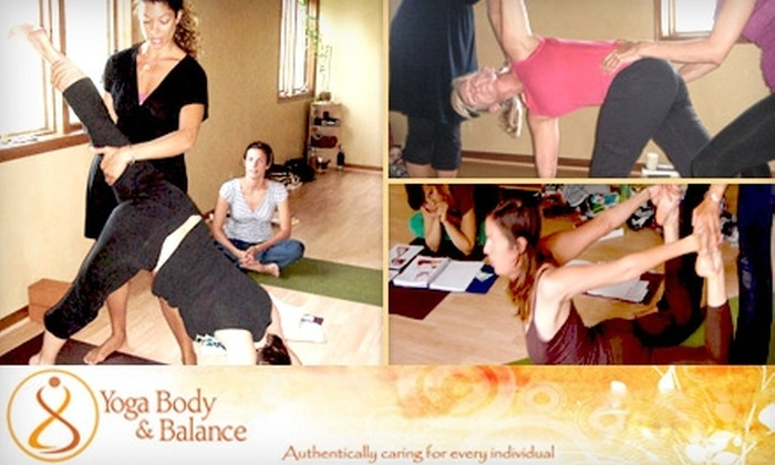 Yoga Body & Balance - Lincoln: $30 for One Month of Unlimited Classes at Yoga Body & Balance ($100 Value)