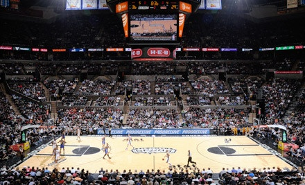 San Antonio Spurs vs. Denver Nuggets at AT&T Center on Sat., Jan. 7 at 7:30PM: 200-Level Seating Package - San Antonio Spurs in San Antonio