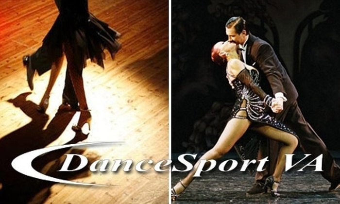 DanceSport VA - Virginia Beach: $55 for Two Private Lessons, One Group Class, and One Practice Session at DanceSport VA