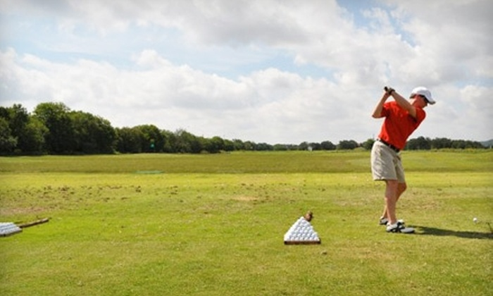 The Range at Leon Springs - Northwest Side: $25 for a Five Visit Pass, Good for All-Day Driving-Range Access with Unlimited Balls ($75 Value) at The Range at Leon Springs in Boerne