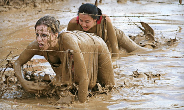 Mud Warrior - Monroe: Two Entry Packages for Mud Warrior Race in Ruckersville on April 14 at 8 a.m. (Up to 51% Off)