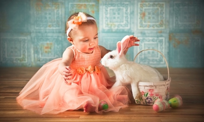 Montag Photorgraphy - Tulsa: $54 for an Easter-Themed Kids' Day Photo Shoot and Print Package at Montag Photography ($108 Value)