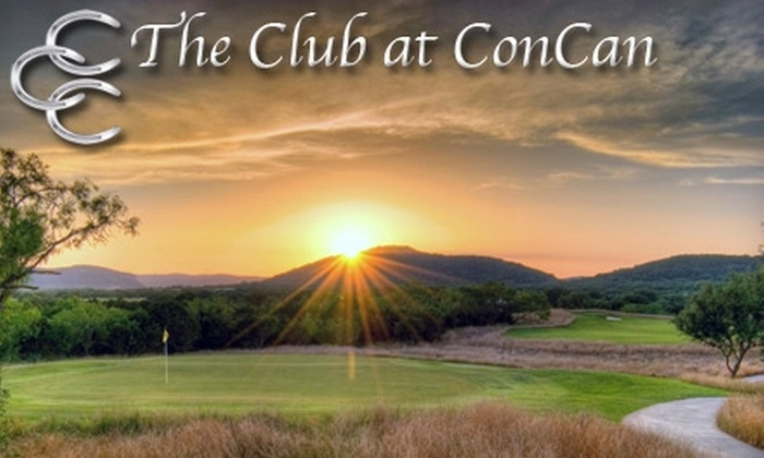 The Club at Concan and Frio Country Resort - Multiple Locations: One-Night Stay, With Golf Option, at the Club at ConCan and Frio Country Resort. Three Options Available.