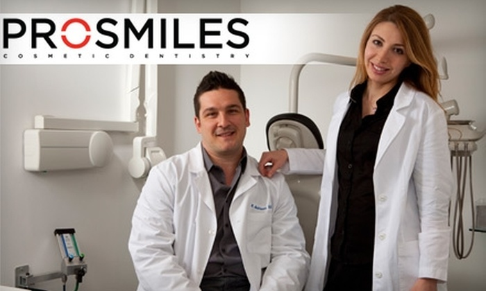 Prosmiles - Multiple Locations: $49 for a Dental Exam, a Cleaning, and X-Rays at Prosmiles ($255 Value)