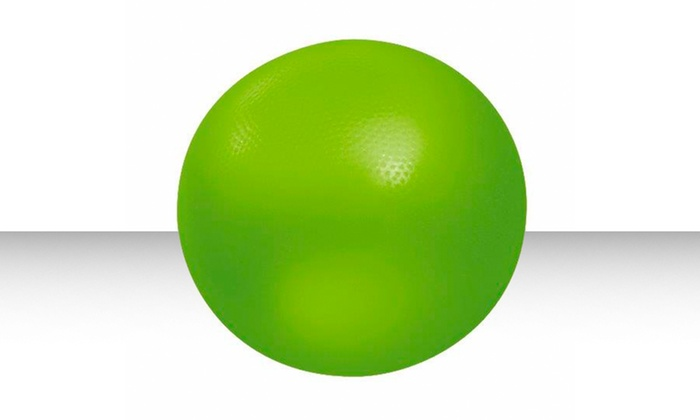 Core-Training Exercise Ball with Instructional DVD: Core-Training Exercise Ball with Instructional DVD. Free Returns.