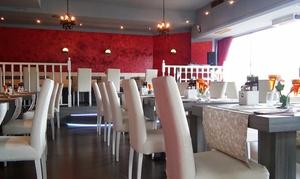 Pizzeria Ristorante Eldorado: Menu di pesce con 4 portate e 2 calici di vino a testa per 2, 4 o 6 persone a Treviso in Strada Ovest(sconto fino a 66%)