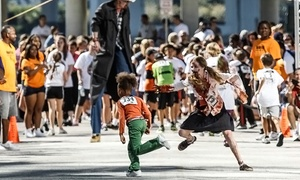 Kids Fitness Zombie Chase: Zombie-Chase Registration for Two or Four at Kids Fitness Zombie Chase (Up to 37% Off)