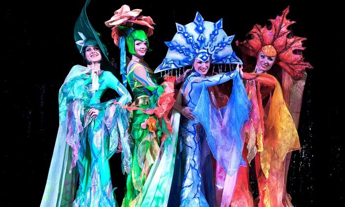 Moscow circus on ice sensation tour 2017