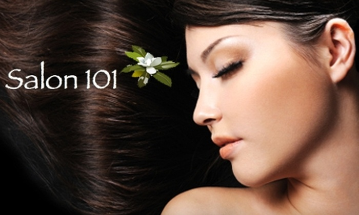 Salon 101 - North Raleigh: $20 for $45 Worth of Hair Services or $20 for a Spa Pedicure ($40 Value)
