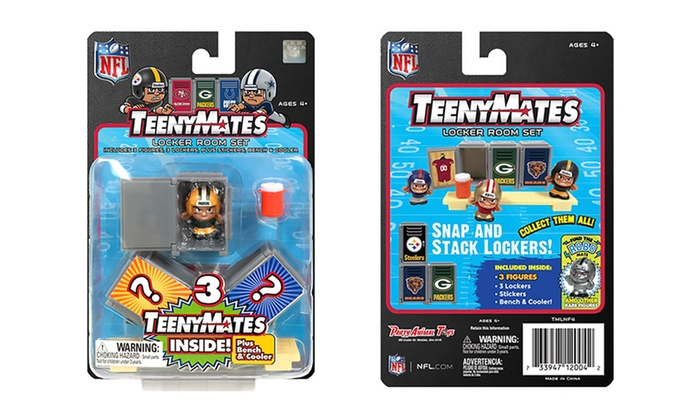 Teenymates Nfl Series 4 Locker Room Set Groupon