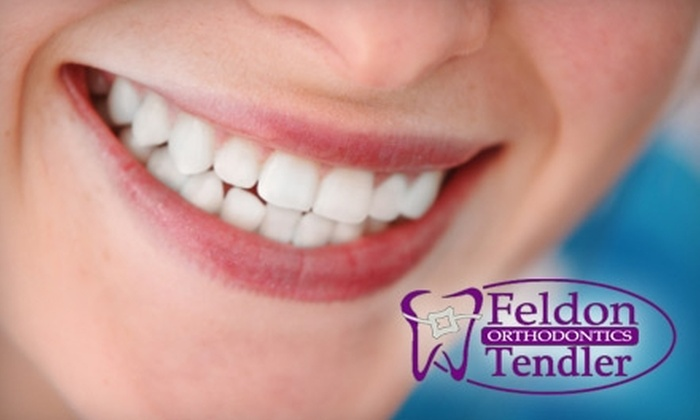 Feldon Tendler Orthodontics - Boca Raton: $49 for an Initial Invisalign Exam, Impressions, and X-rays ($377 Value) Plus $1,000 Off Total Invisalign Treatment Cost from Feldon Tendler Orthodontics