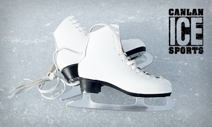 Canlan Ice Sports - Frances Slocum: $4 for Ice Skating and Skate Rental at Canlan Ice Sports