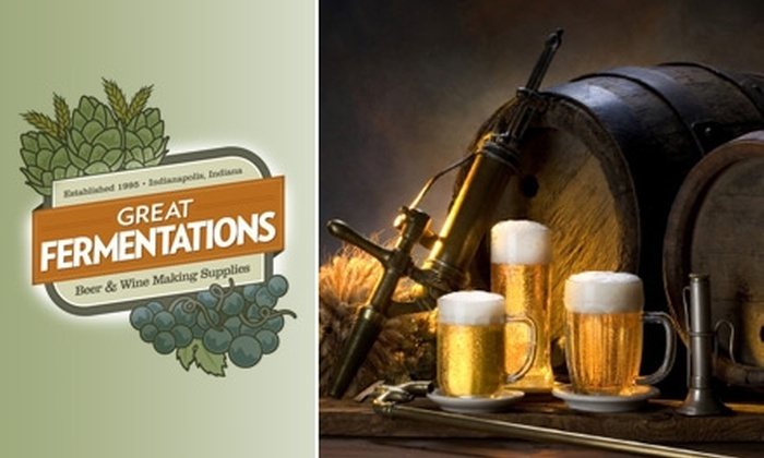 Great Fermentations - Eastwood: $59 for a Brewing Class and Home-Brewing Kit from Great Fermentations ($123.49 Value)