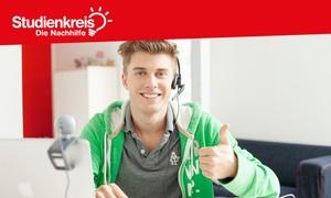 Studienkreis - Die Nachhilfe: 5x 45 Minuten Online-Nachhilfe-Paket im Live-Einzelunterricht mit Lehrer via Skype bei Studienkreis (61% sparen*)