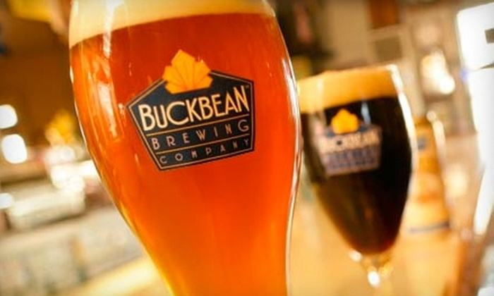 Buckbean Brewing Company - Eastside: $19 for a Craft-Beer Sampler Pack at Buckbean Brewing Company ($38 Value)