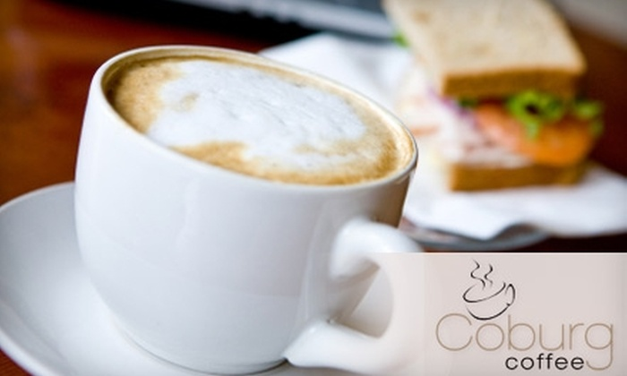 Coburg Coffee House - South End: $5 for $10 Worth of Café Fare and Drinks at Coburg Coffee House