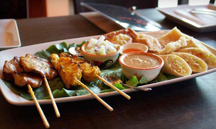 Street Side Thai Kitchen San Diego - North Park: $16 for an Authentic Thai Meal Including Starter and Entrees for Two  at Street Side Thai Kitchen