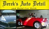Derek's Auto Detail - Multiple Locations: $17 for a Car Wash or $49 for $100 Worth of Detail Services at Derek's Auto Detail