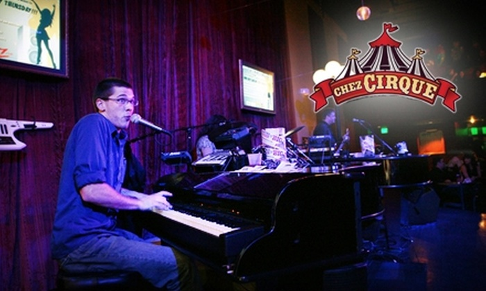 Chez Cirque - Greenwood Village: $10 for $20 Worth of Martinis, Small Plates, Dueling Pianos and More at Chez Cirque