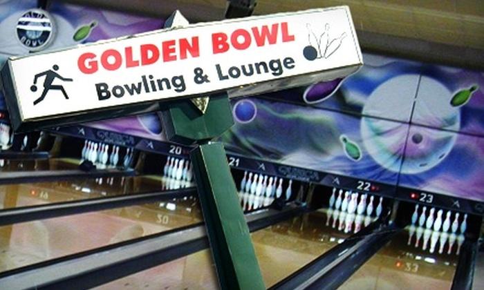 Golden Bowl - Denver: $25 for $50 Worth of Bowling, Food, and Drinks at Golden Bowl