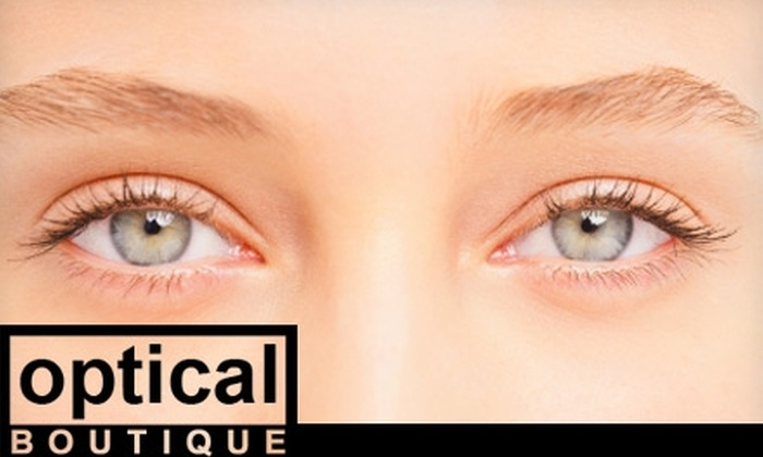 Optical Boutique - Mid-City West: $39 for an Eye Exam Plus Half Off Designer Frames at Optical Boutique ($89 Value)