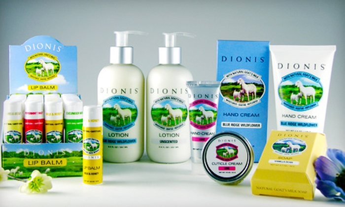 Dionis : $10 for $20 Worth of Bath and Body Products from Dionis