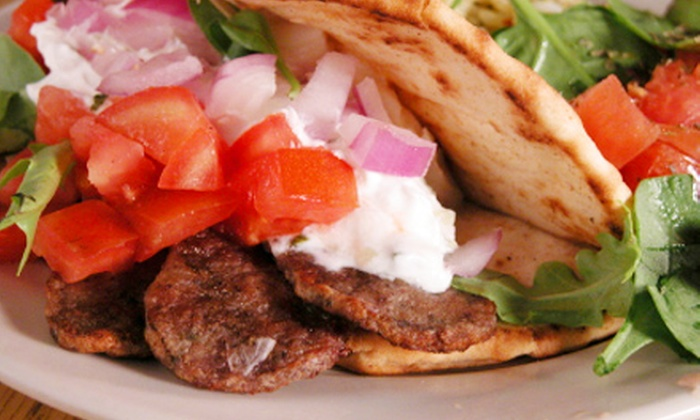 Mama's Pita Wraps - Downtown: $6 for $12 Worth of Authentic Mediterranean Fare at Mama's Pita Wraps