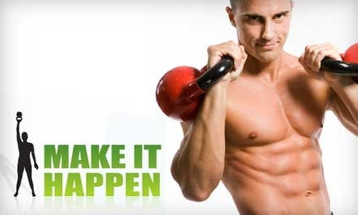 Make It Happen - Downtown: $39 for Five Kettlebell Training Classes at Make It Happen ($96 Value)