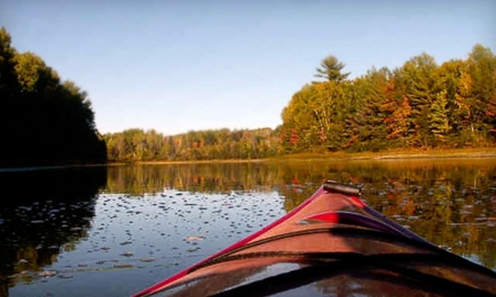 Wild Rivers Adventure Company - Florence: $30 for a Self-Guided Kayak Trip Including Shuttle Service from Wild Rivers Adventure Company in Florence, Wisconsin (Up to $60 Value)