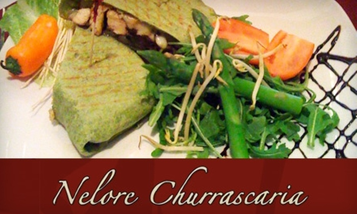 Nelore Churrascaria - Winter Park: $60 for Two Full Rodizio Dinners, Two Desserts, and a Bottle of Wine at Nelore Churrascaria (Up to $120 Value)