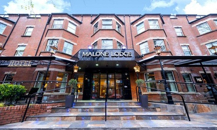 groupon.co.uk - Belfast: 1-3 Nights for Two with Breakfast, 2-Course Dinner, Prosecco and Late Check-Out at Malone Lodge Hotel
