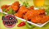 Ba-Da Wings - Multiple Locations: $10 for $20 Worth of Wings, Wraps, and More at Ba-Da Wings