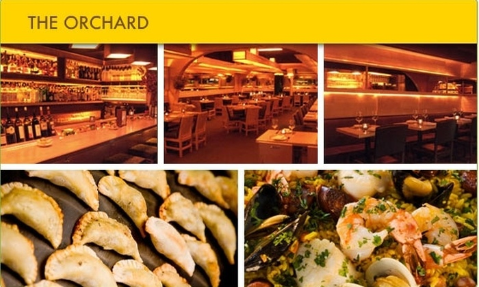 The Orchard - Lower East Side: $20 for $50 Worth of Cuisine and Drinks at The Orchard