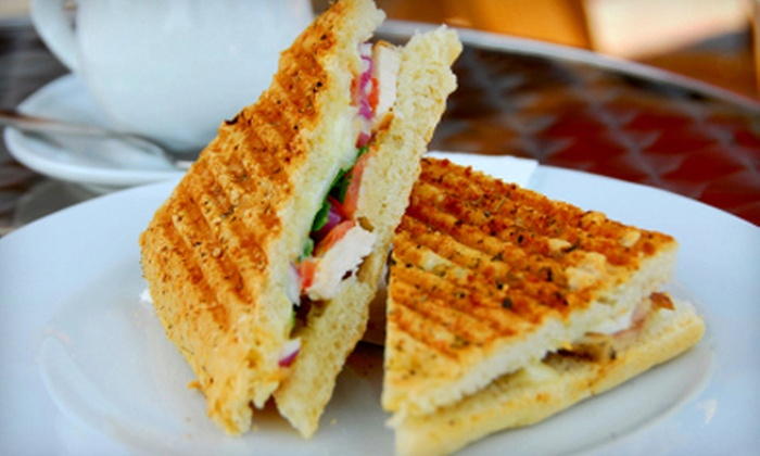 Euro Panini - Bradford: Paninis and Fries for Two or Four at Euro Panini in Bradford