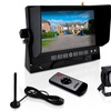 Pyle Commercial-Grade Wired Backup Camera and Video Monitor