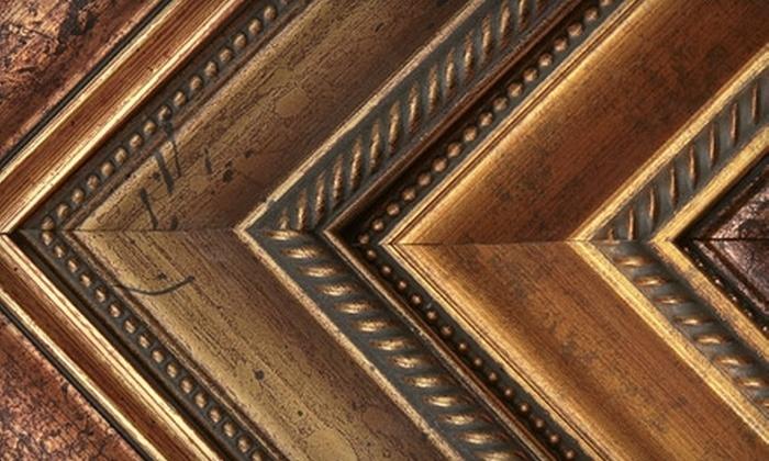 FrameStore - Multiple Locations: $30 for $100 Worth of Custom Framing at FrameStore