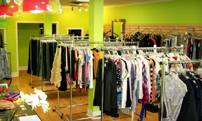 Priced Green - Windsor: $10 for $20 Worth of Gently Worn Second-Hand Clothing and Accessories at Priced Green