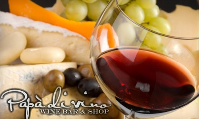 Papà di vino - Morningside: $7 for Two Appetizers at Papà di vino ($14 Value)