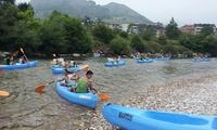 Descenso del río Sella en canoa para 2, 4 o 6 personas desde 31,80 € con Canoas Martos