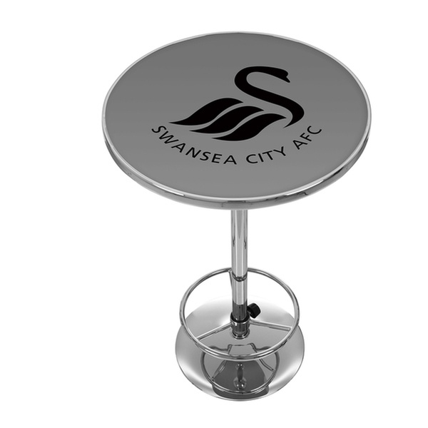 Magnificent English Premier League Swivel Bar Stool Or Chrome Pub Table Lamtechconsult Wood Chair Design Ideas Lamtechconsultcom