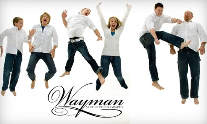 "Wayman Studio Photography - Riverton: $49 for a Group Photo Session and One 11""x14"" Print at Wayman Studio Photography in Riverton ($165 Value)"