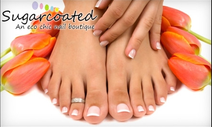 Sugarcoated Nail Boutique - Mount Greenwood: $26 for a Topcoat-Level Manicure and Pedicure at Sugarcoated Nail Boutique ($57 Value)