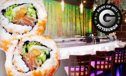 $20 Groupon to Saga Hibachi Steakhouse & Sushi Bar - Saga Hibachi Steakhouse & Sushi Bar in Monroeville