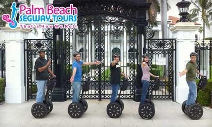 Palm Beach Segway Tours - Downtown West Palm Beach: $37 for Two-Hour Tour at Palm Beach Segway Tours ($75 Value)