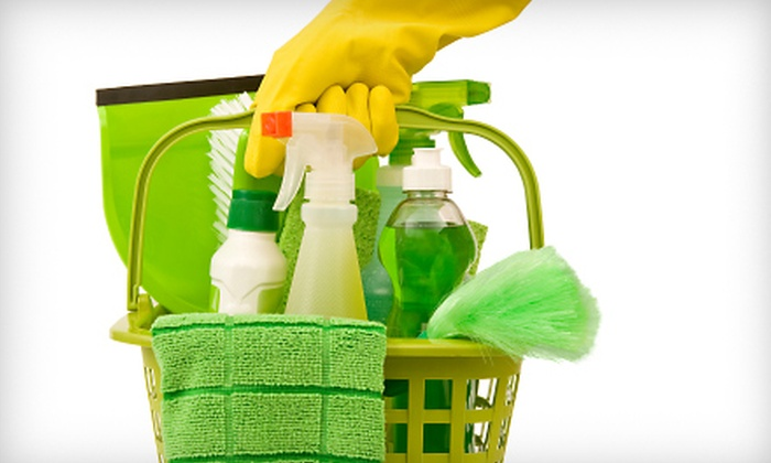 Green Healthy Cleaning - Brooklyn Park: $87 for Three Man-Hours of House Cleaning from Green Healthy Cleaning ($175 Value)